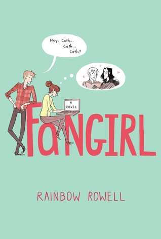 Fangirl Book by Rainbow Rowell book review by www.letter2self.com